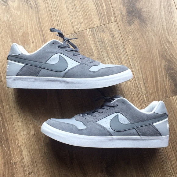 38be57de0324 Men s Nike SB Delta Force Shoes - Grey. M 5ad0ed5150687cfa6cee78c9